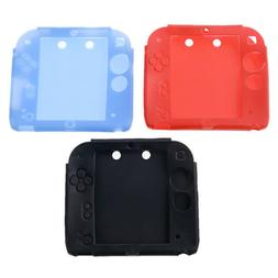 1 Set Silicone Case and Screen Protector for Nintendo 2DS Vi