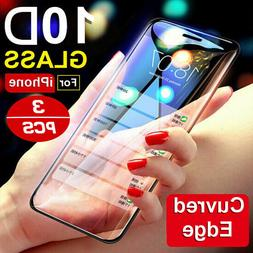 10D Curve For iPhone X XS MAX XR Full Cover Real Tempered Gl
