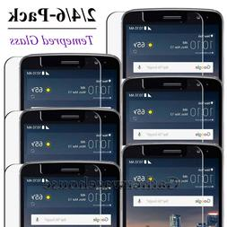 2/4/6 Pack Case Friendly Tempered Glass Screen Protector for