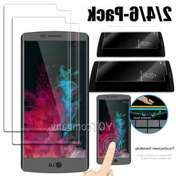 2/ 4/ 6 Pack Premium Real Tempered Glass Screen Protector Fi