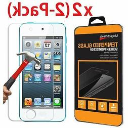 2 PACK Tempered Glass Screen Protector for Apple iPod Touch