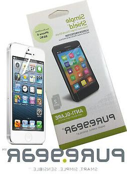 2 PUREGEAR ANTI-GLARE SCREEN PROTECTOR SIMPLE SHIELD FOR APP
