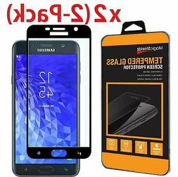 2-Pack Full Tempered Glass Screen Protector For Samsung Gala