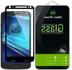 2-Pack Motorola Droid Turbo 2 Tempered Glass Full Cover Scre