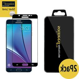 SOINEED Samsung Galaxy Note5 FULL COVER Tempered Glass Scre