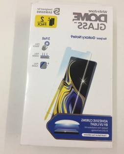 2 Pack Galaxy Note 9 Whitestone Dome Glass Tempered Screen P