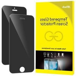 JETech 2-Pack iPhone 5 5s 5c SE Screen Protector Privacy Ant