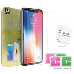 iPhone X   Premium Quality Tempered Glass Screen Protectors