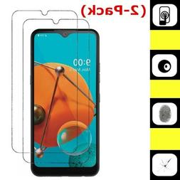 2 Pack Premium Real 9H Tempered Glass Screen Protector For L