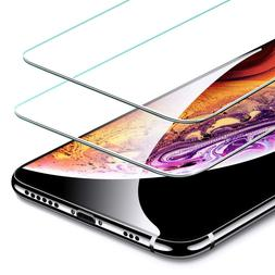 2 Pack Premium Screen Protector Tempered Glass For iPhone X