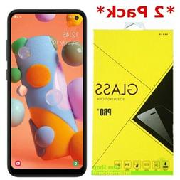 2-Pack Premium Tempered Glass Screen Protector For Samsung G