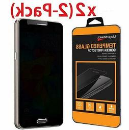 2-Pack Privacy Anti-Spy HD Tempered Glass Screen Protector f