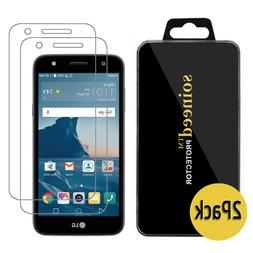 {2-PACK} SOINEED® LG X Charge Tempered Glass Screen Protect