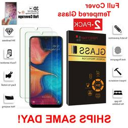 2-Pack Tempered Glass Clear HD Screen Protector  For Samsung