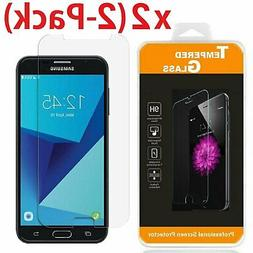 2 pack tempered glass screen protector