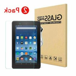 """2 Pack Tempered Glass Screen Protector For Amazon fire 7"""" /"""