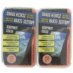 2 pack tempered glass screen protector film