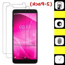 2-Pack Tempered Glass Screen Protector for ALCATEL T-Mobile
