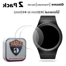 Universal 9H Tempered Glass Screen Protctor For Round Watch