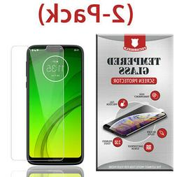 2 Tempered Glass Screen Protector For Motorola Moto G7 Play