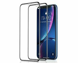 2Pack For Apple iPhone X XS Max XR Full Coverage Tempered Gl