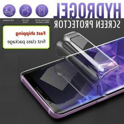 For OnePlus 7 7T 8 Pro Nord Full Cover Soft Hydrogel TPU Sc
