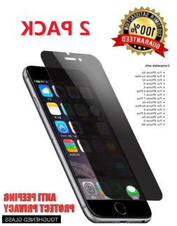 2x Privacy Anti-Spy Tempered Glass Screen Protector for iPho