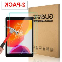 2x Tempered Glass Screen Protector For iPad 9.7 10.2 7th 5th