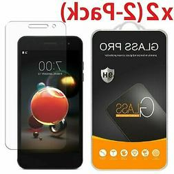2x Tempered Glass Screen Protector For LG Aristo 2 Plus 3 Fo