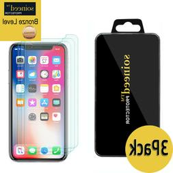 """SOINEED Apple iPhone X /XS /11 Pro 5.8"""" Tempered Glass Scre"""