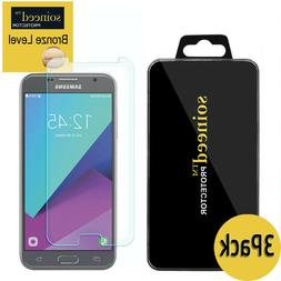 3-Pack SOINEED Samsung Galaxy J3 2017 Shockproof Tempered Gl