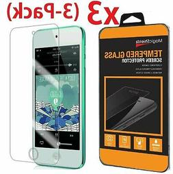 3-Pack Tempered Glass Screen Protector Film for iPod Touch 5