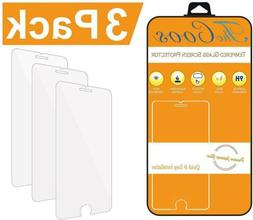 3 Pack TheCoos iPhone 8 7 6s 6 Screen Protector Tempere Glas