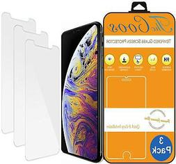 TheCoos iPhone X Screen Protector, Tempered Glass, 3D Touch