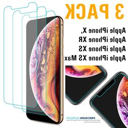 3-Pack 9H Premium for iPhone X, XS, XR, XS Max Tempered Glas