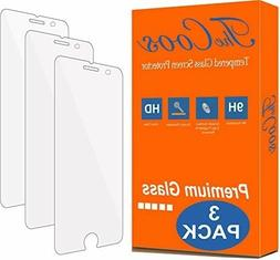 TheCoos  9H Tempered Glass Screen Protector for Apple iPhone