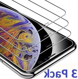 3-Pack For iPhone 11 Pro 8 7 6s Plus X Xs Max XR Tempered GL