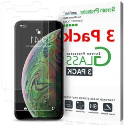 For iPhone X XS XS MAS XR Tempered Glass Screen Protector H