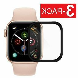 3-Pack Full Coverage Screen Protector for Apple Watch Series