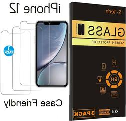 3-Pack iPhone 12 / Pro Max / Mini Screen Protector Case Frie