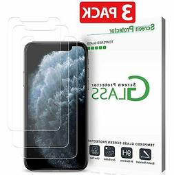 3-Pack Premium Tempered GLASS Screen Protector for iPhone X