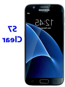 3 Pack Samsung Galaxy S7 CLEAR LCD Screen Protector Cover Fi