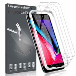 LK  Screen Protector for iPhone 8,  Doubl