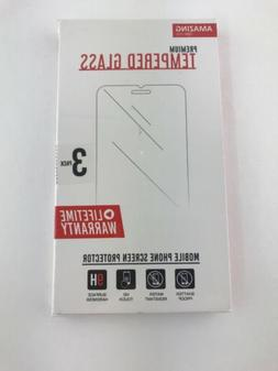 3 pack screen protector tempered glass