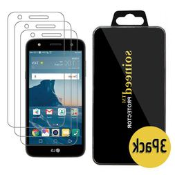 {3-PACK} SOINEED® LG X Charge Tempered Glass Screen Protect