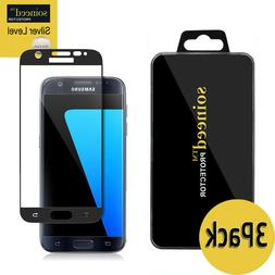 SOINEED Samsung Galaxy S7 FULL COVER Tempered Glass Screen