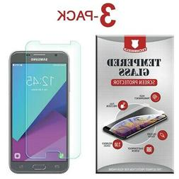 Tempered Glass Film Screen Protector For Samsung Galaxy J3
