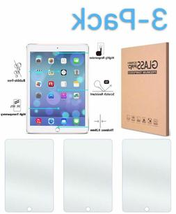 3 Pack TEMPERED GLASS Screen Protector for iPad 9.7 Pro 5th