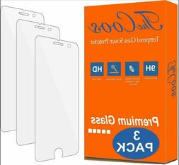 TheCoos 3-Pack Tempered Glass Screen Protector Apple iPhone