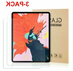 3-Pack Tempered Glass Screen Protector For Apple iPad Pro 11